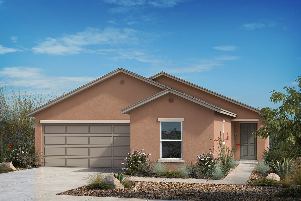 New Homes in Tucson, AZ - Desert Point Plan 1842 Elevation A