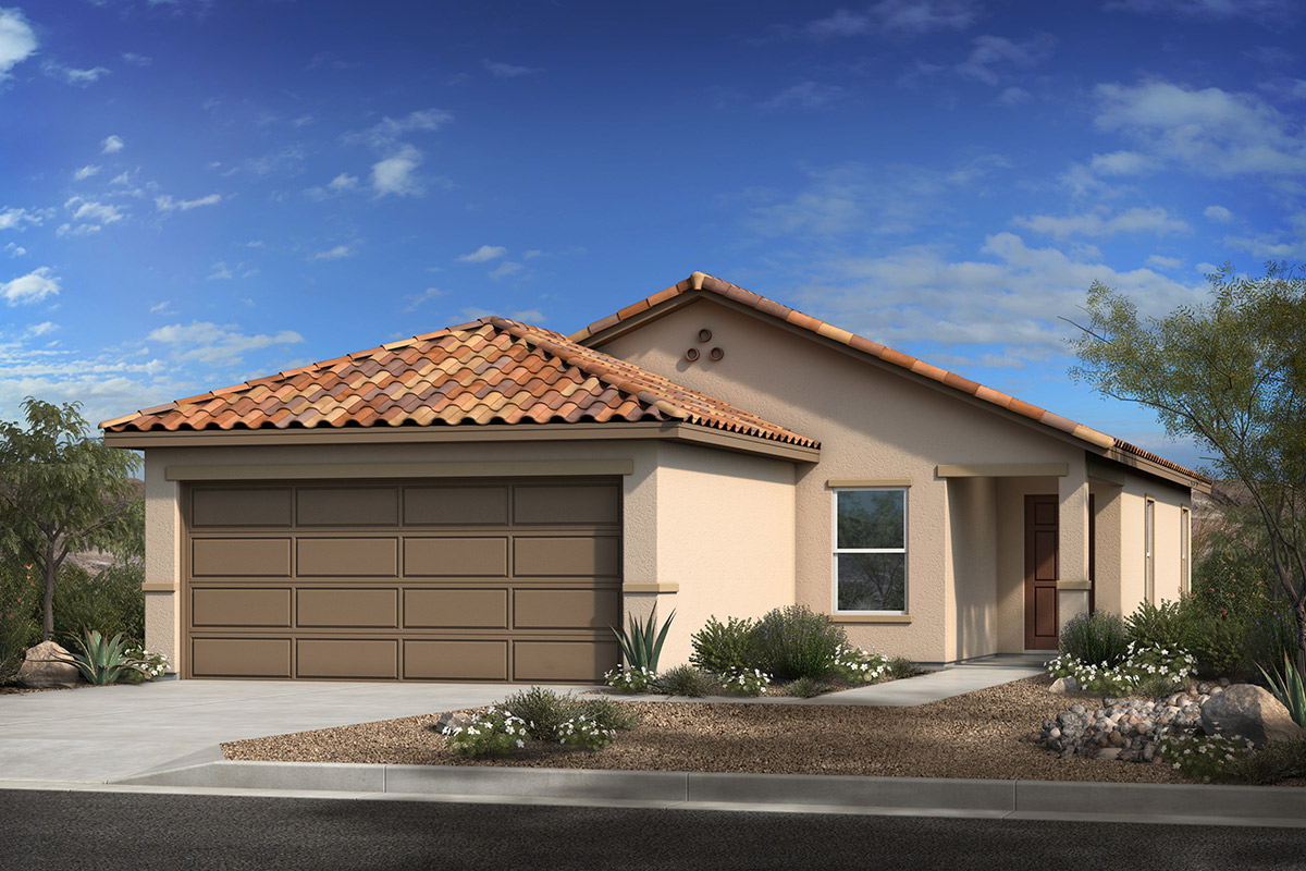 New Homes in Sahuarita, AZ - Entrada Del Rio at Rancho Sahuarita Plan 1383 Elevation A