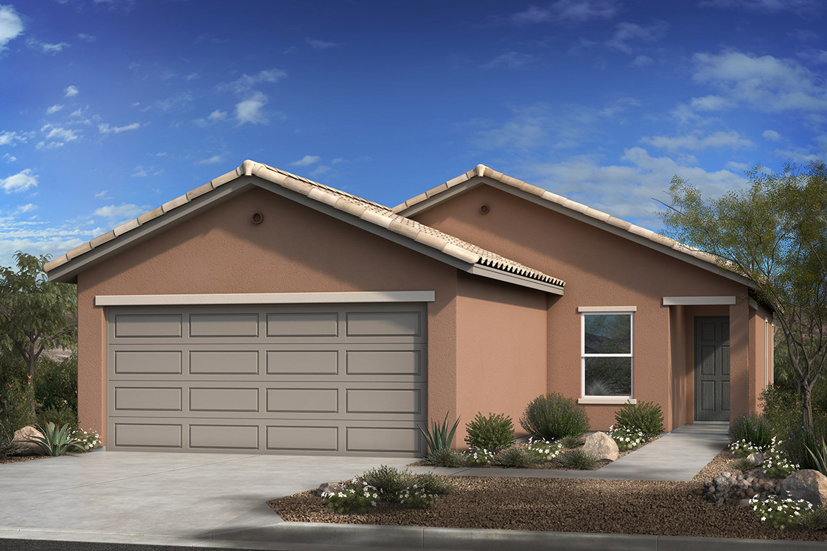 New Homes in Sahuarita, AZ - Entrada Del Rio at Rancho Sahuarita Plan 1465 Elevation A