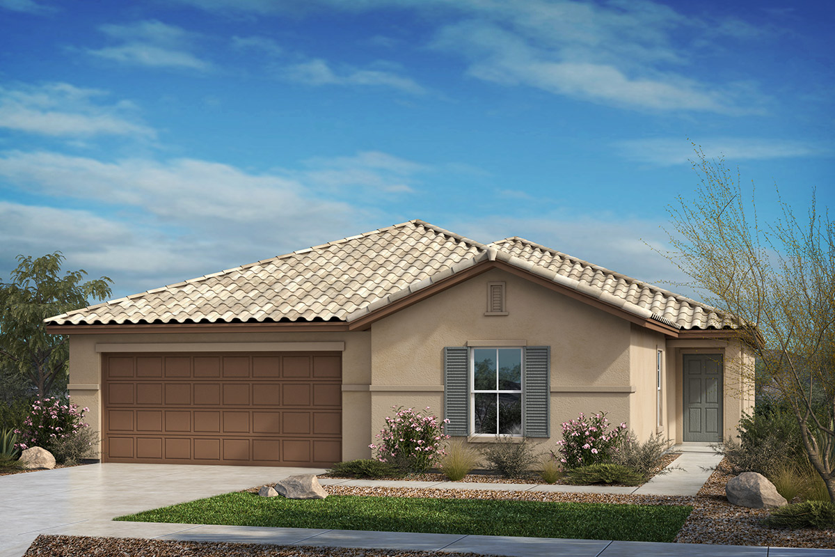 New Homes in Tucson, AZ - Estrella Estates Plan 2013 Elevation B