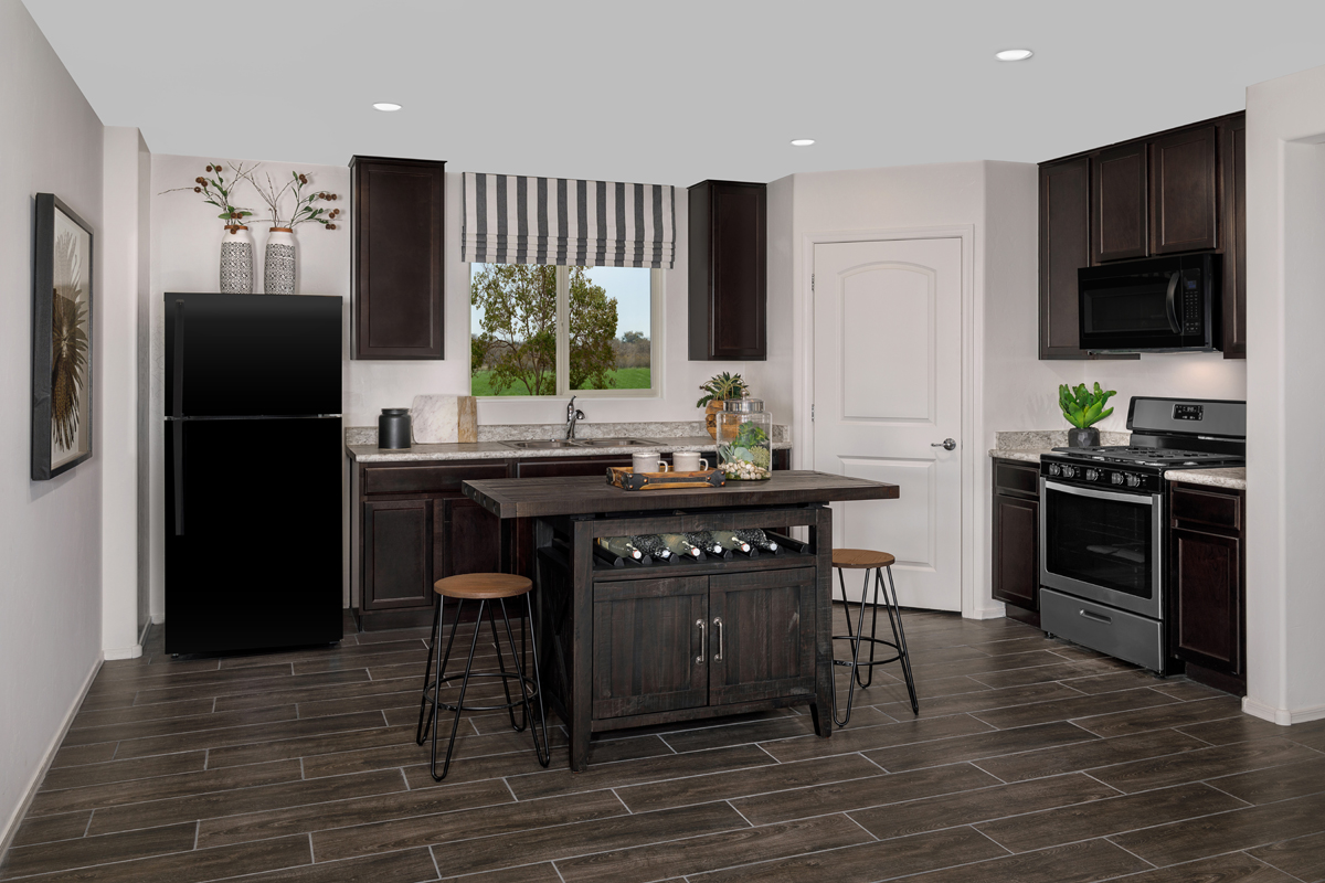 New Homes in Tucson, AZ - La Tierra Reserve Plan 1465 Kitchen