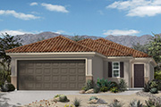 New KB Home built-to-order homes available at Mountain Vail Reserve in Tucson, AZ. Plan 1515 is one of many floor plans to choose from.