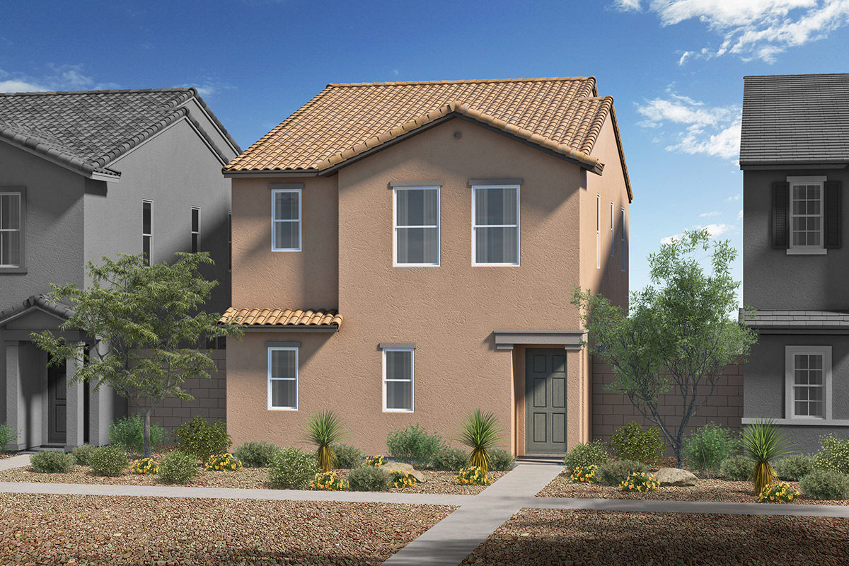 New Homes in Tucson, AZ - Mountain Enclave Plan 1765 Elevation A