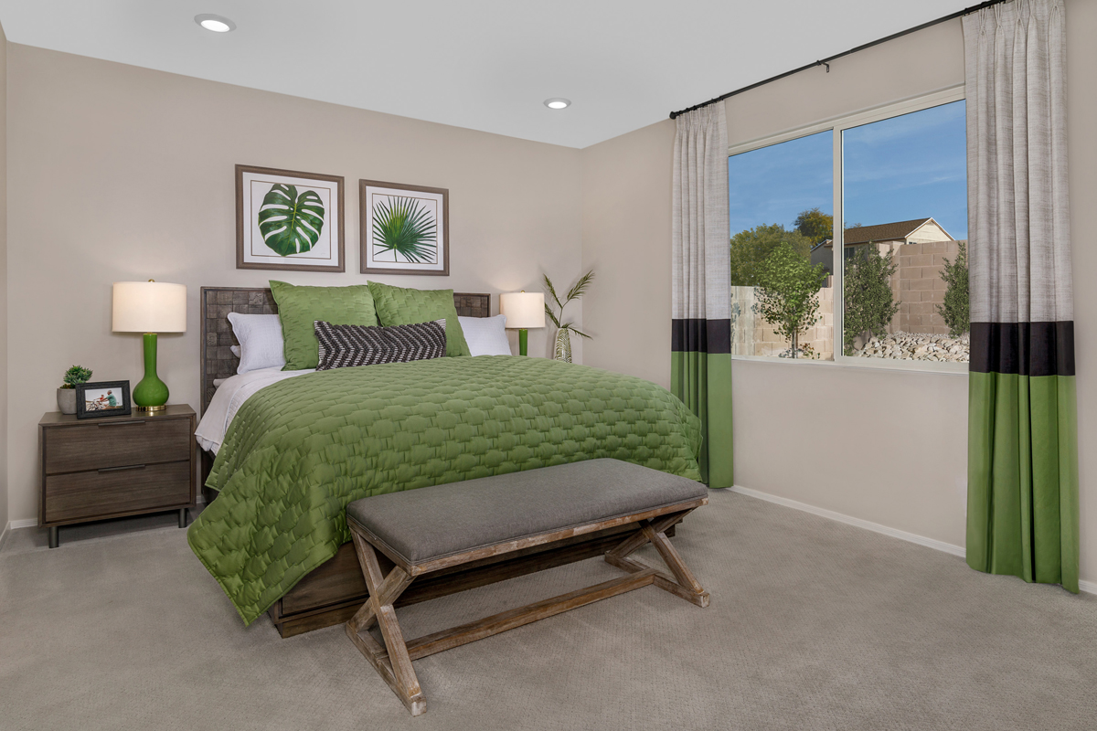 New Homes in Tucson, AZ - Northwood Point Plan 1842 Master Bedroom