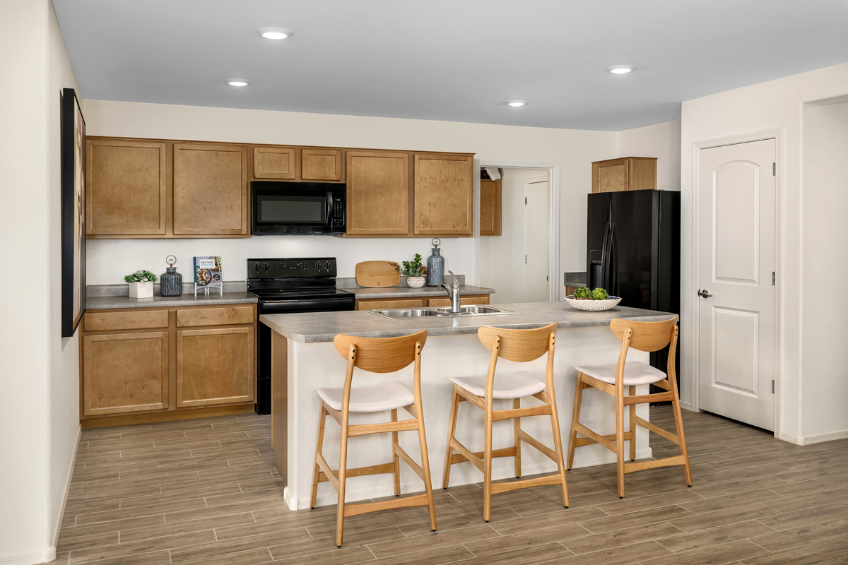 New Homes in Tucson, AZ - Northwood Point Plan 1584 Kitchen