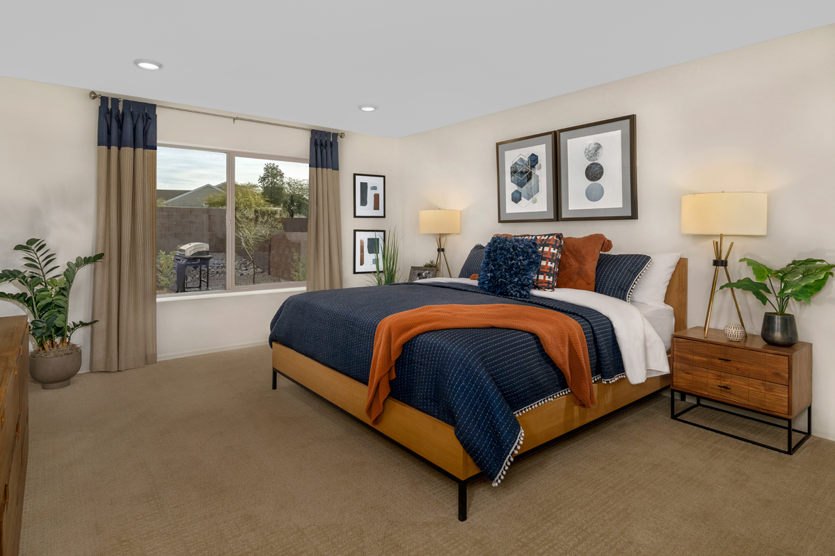 New Homes in Tucson, AZ - Northwood Point Plan 1584 Master Bedroom