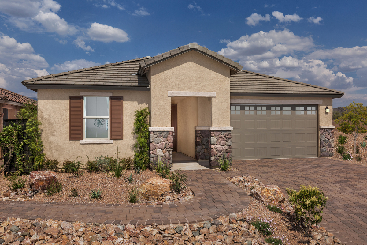 New Homes in Vail, AZ - Estates at Rancho Del Lago 2583 Exterior