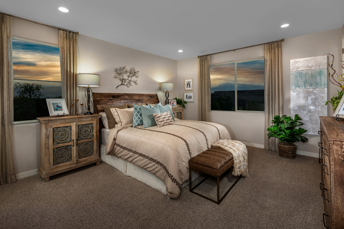 New Homes in Vail, AZ - Estates at Rancho Del Lago 2583 Master Bedroom
