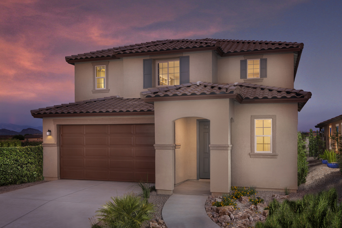 New Homes in Tucson, AZ - Sonoran Ranch II Plan 2632 Exterior