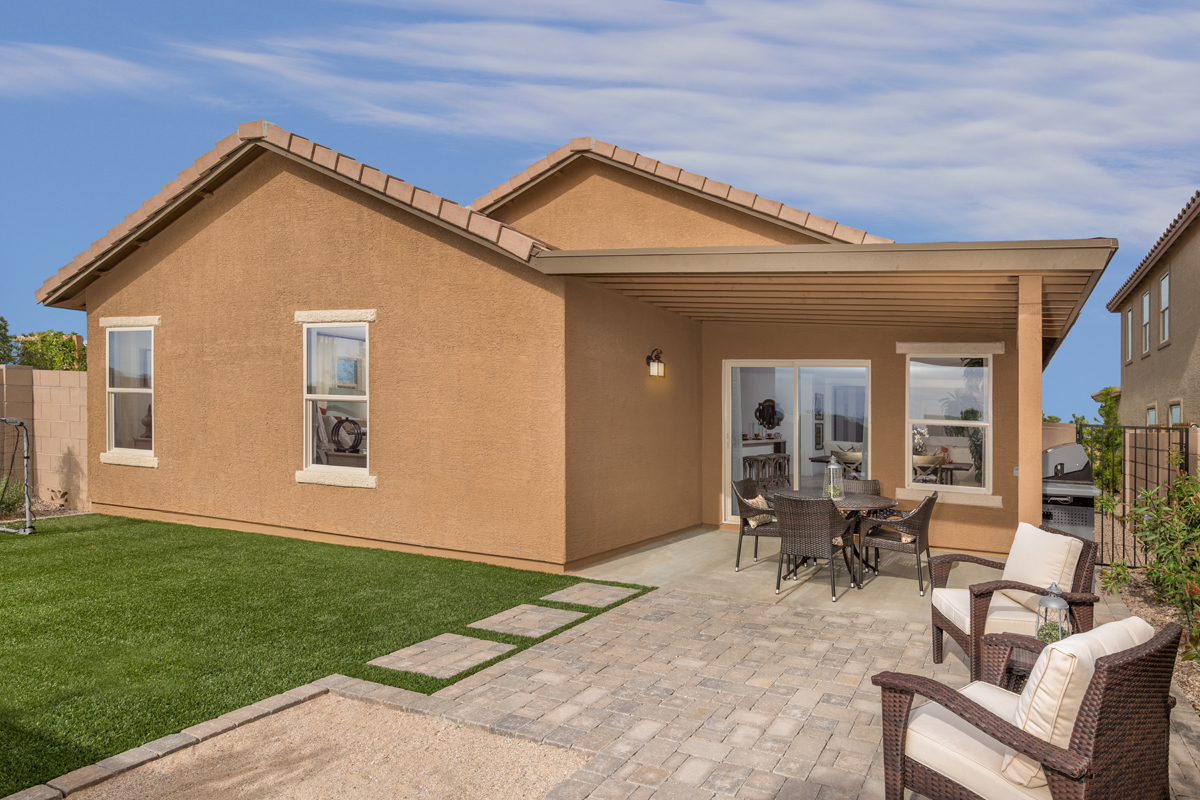New Homes in Tucson, AZ - Sonoran Ranch II Plan 1849 Patio