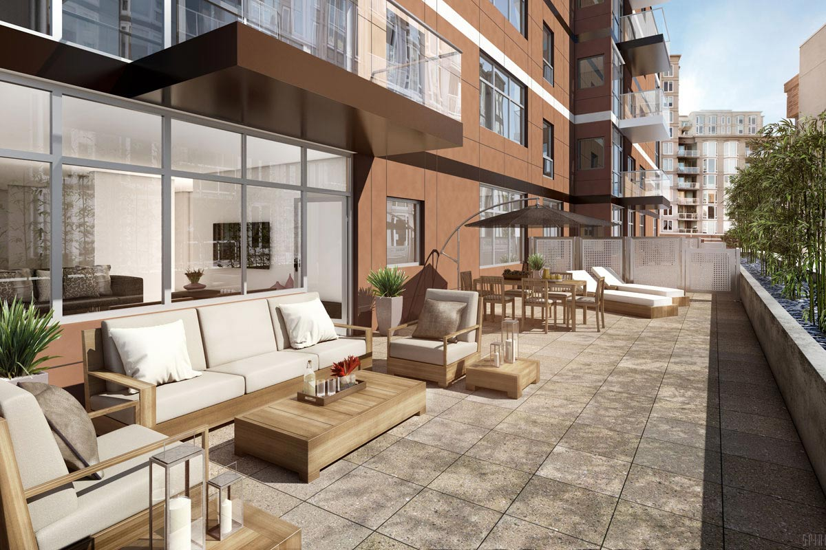 New Condo Balcony Design 72 Townsend San Francisco Ca