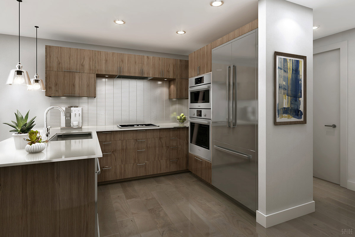 ... New Condo Kitchen Design   72 Townsend, San Francisco CA ...