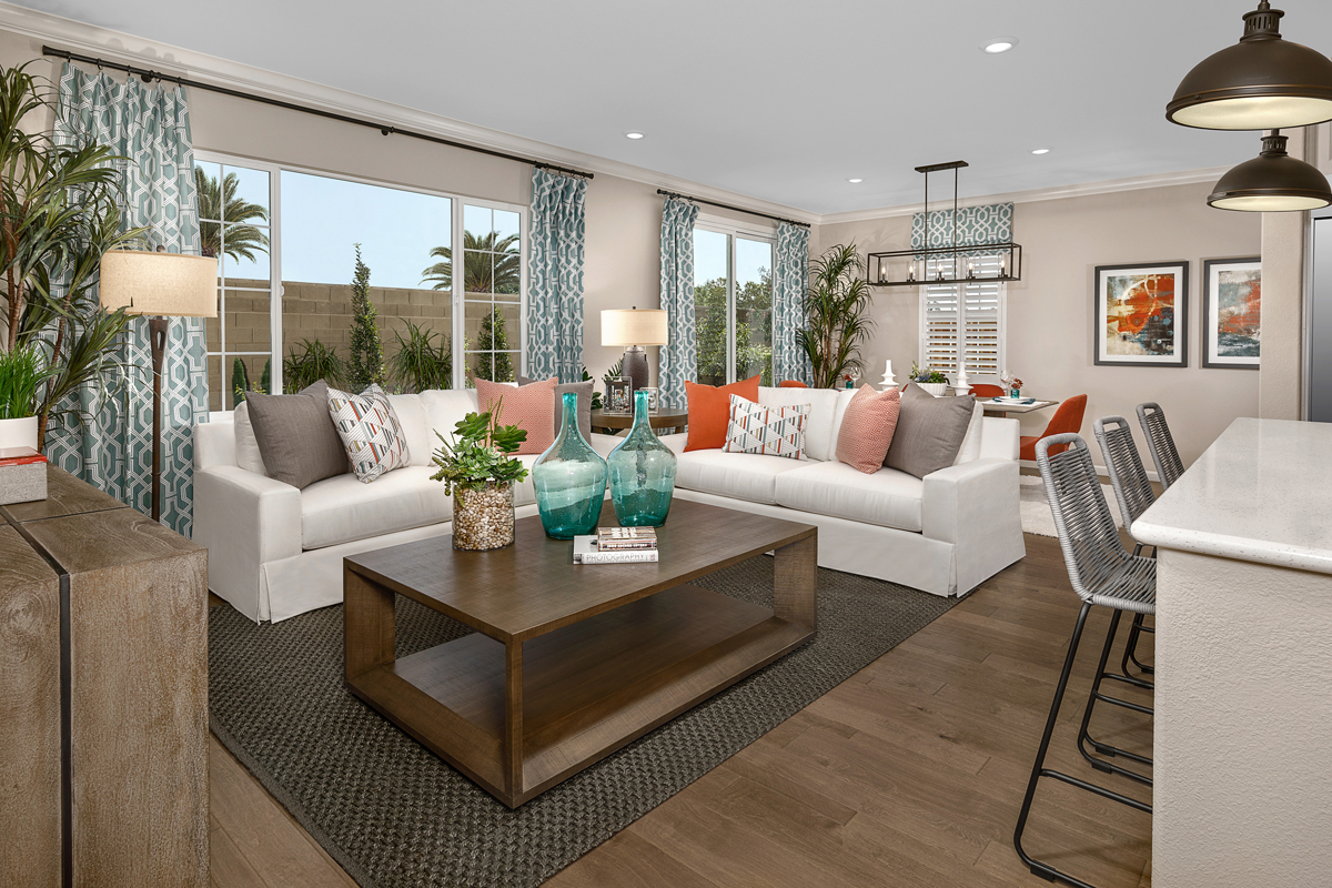 New Homes in Oakley, CA - Ashbury Plan 1478 Great Room