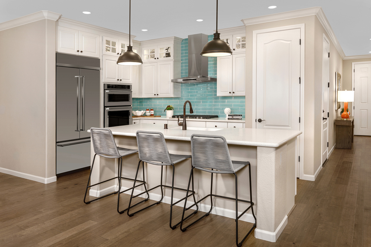 New Homes in Oakley, CA - Ashbury Plan 1478 Kitchen