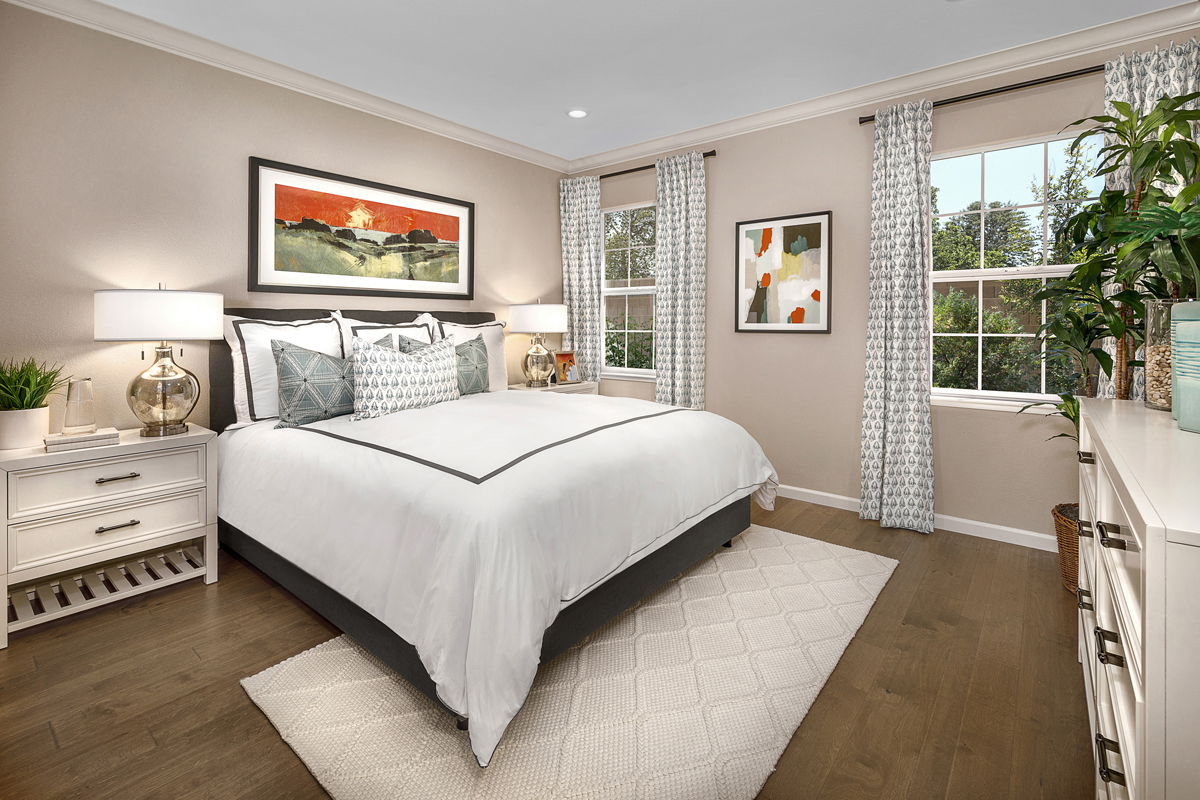 New Homes in Oakley, CA - Ashbury Plan 1478 Master Bedroom