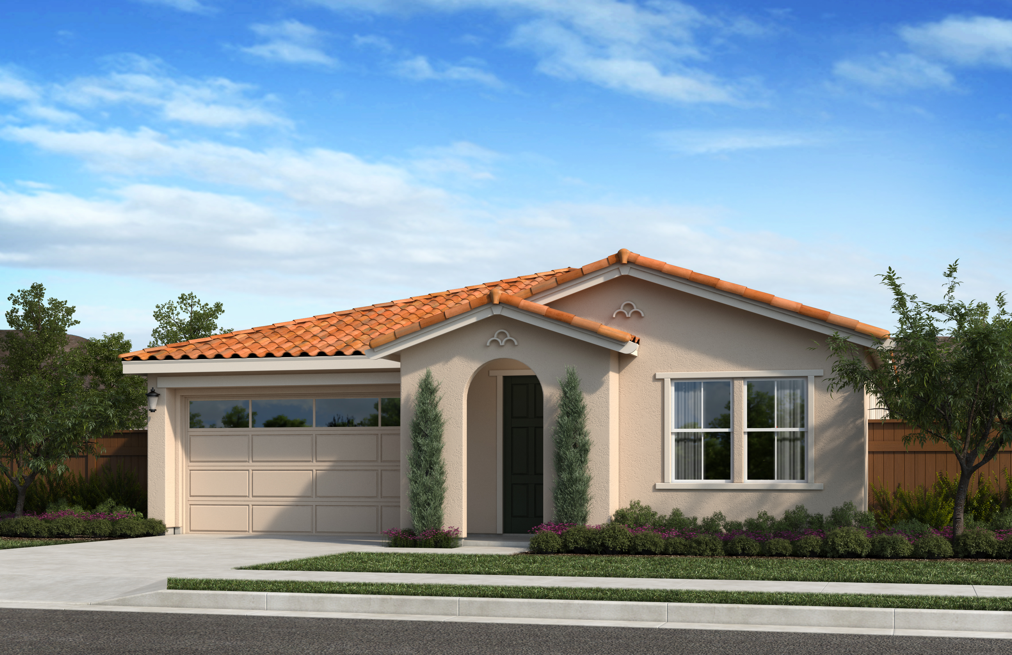 New Homes in Oakley, CA - Ashbury Plan 1854 - Elevation A