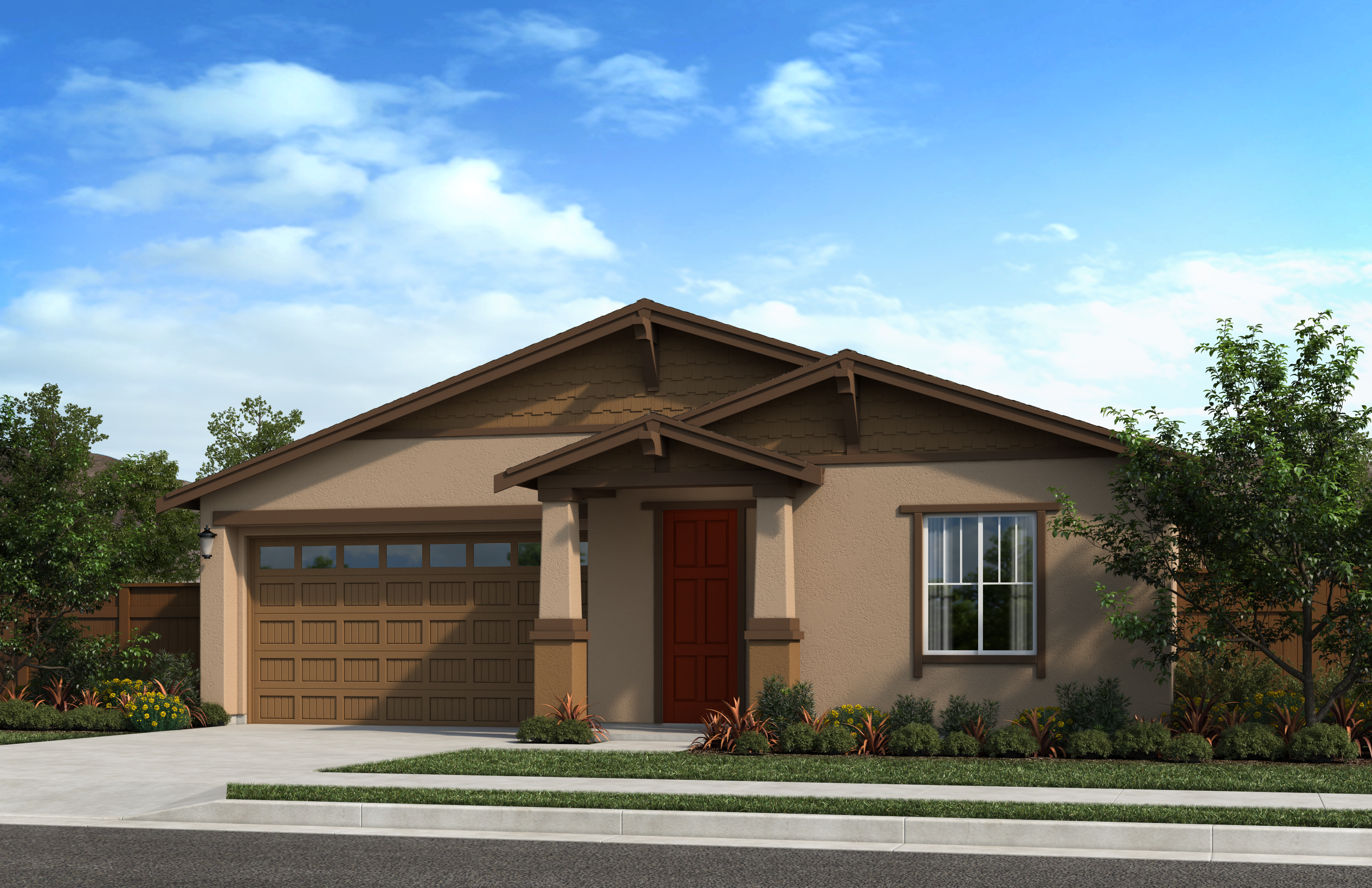 New Homes in Oakley, CA - Ashbury Plan 1854 - Elevation B