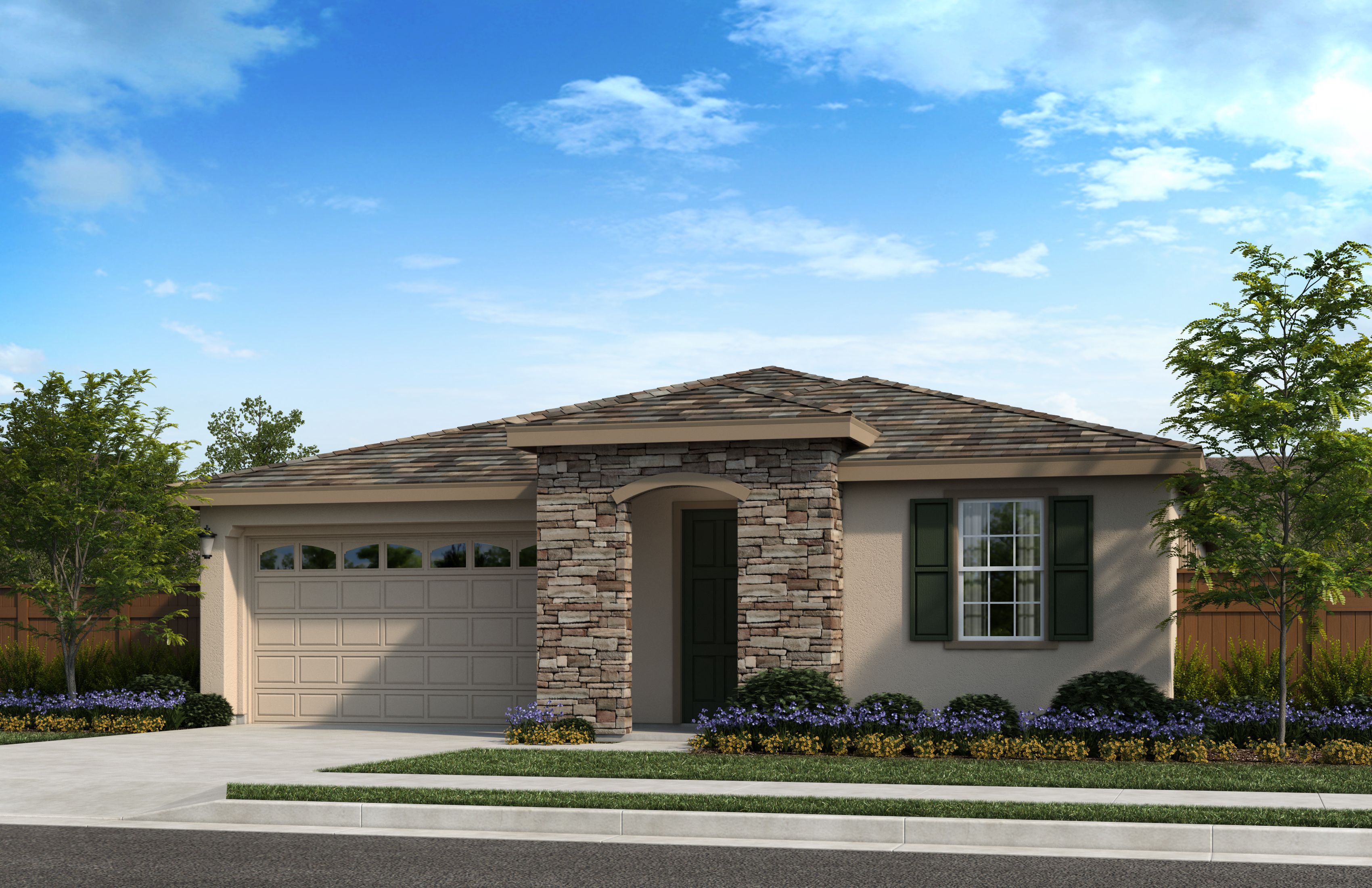 New Homes in Oakley, CA - Elevation C