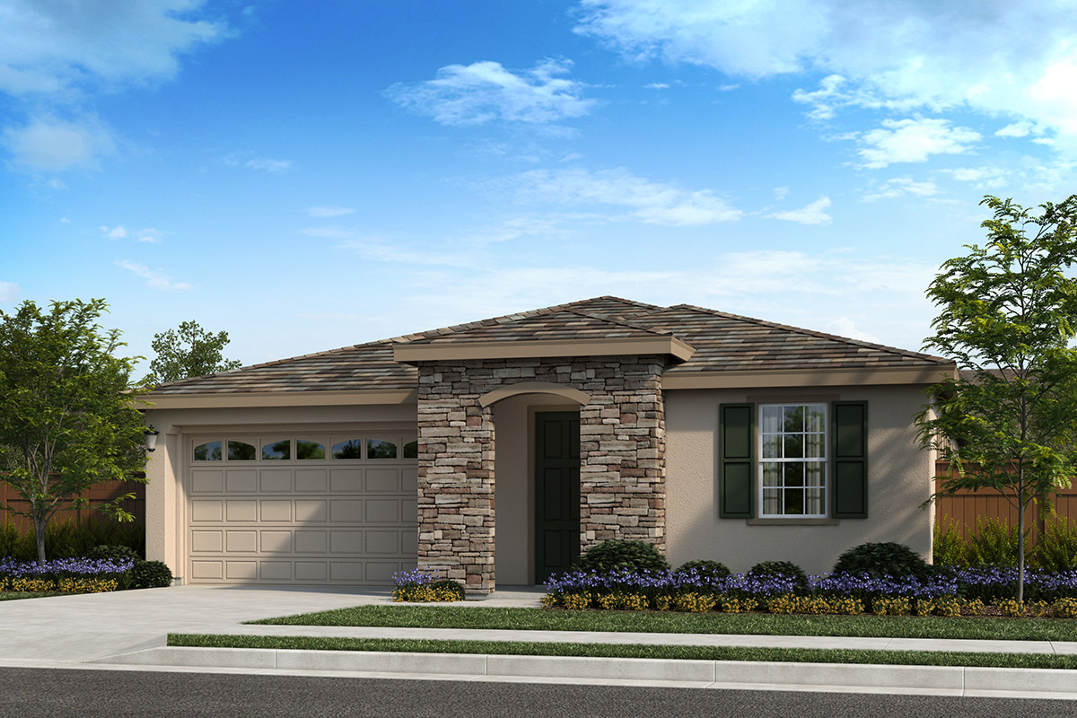 New Homes in Oakley, CA - Ashbury Plan 1854 - Elevation C