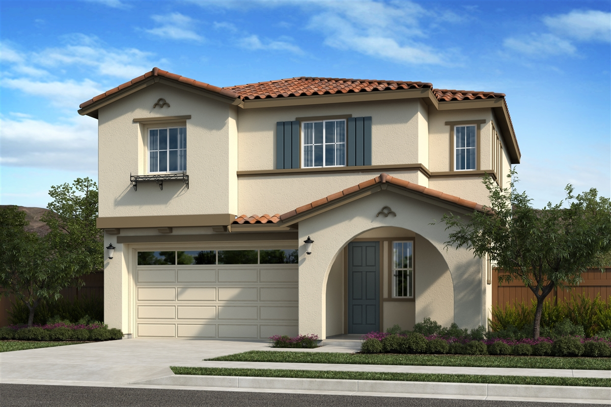 New Homes in Oakley, CA - Ashbury Plan 2012 - Elevation A