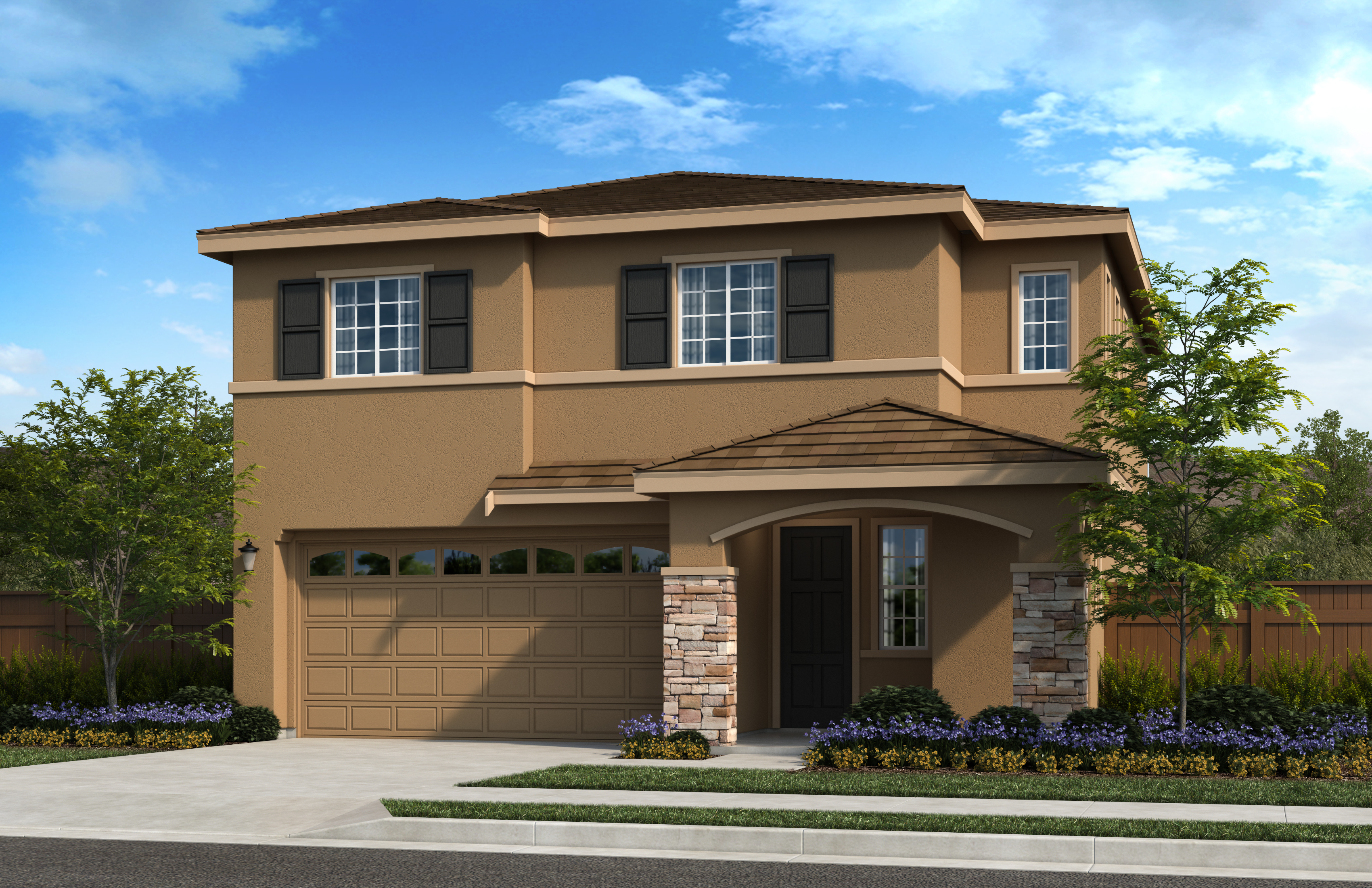 New Homes in Oakley, CA - Ashbury Plan 2012 - Elevation C
