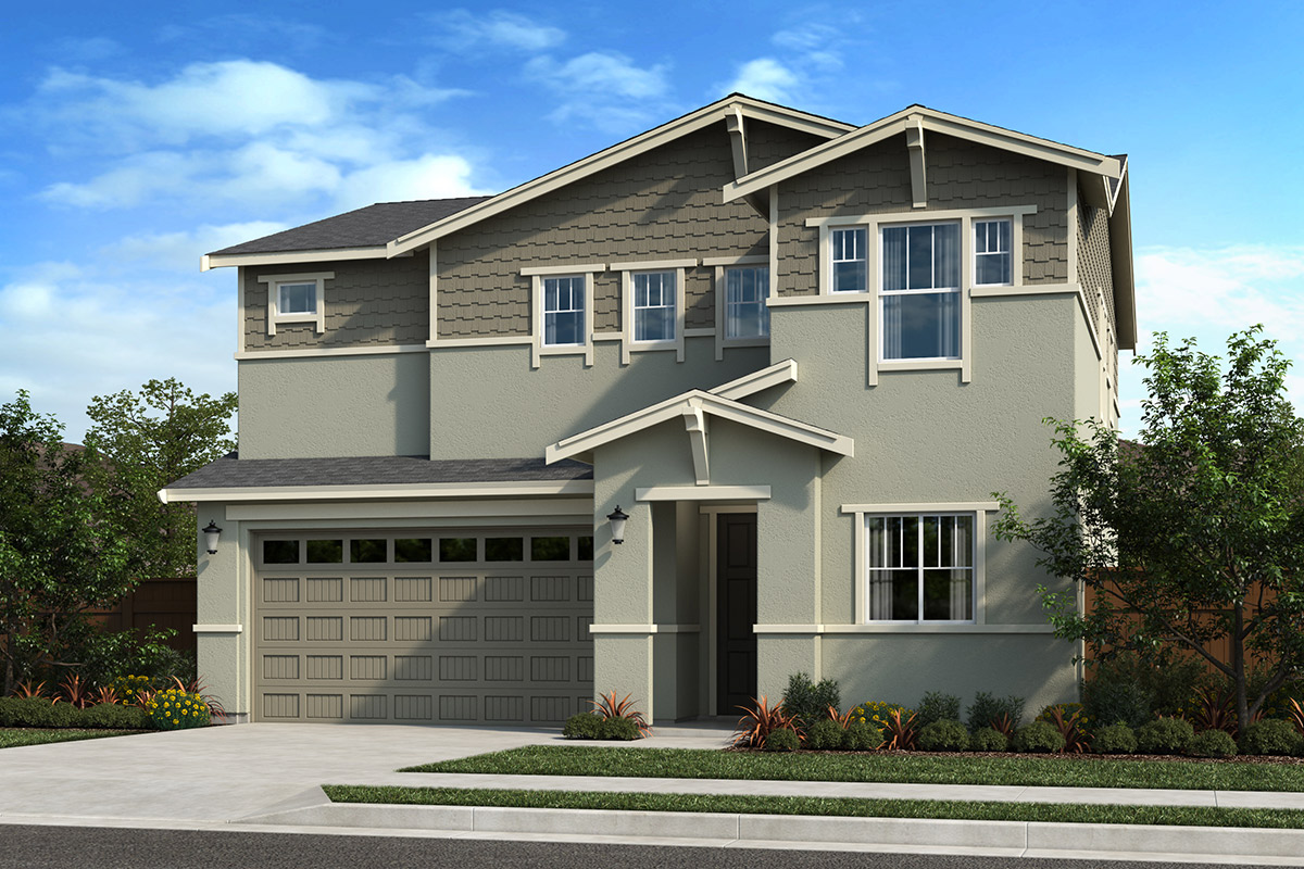 New Homes in Oakley, CA - Ashbury Plan 2211 - Elevation B