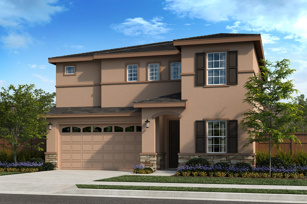 New Homes in Oakley, CA - Ashbury Plan 2211 - Elevation C