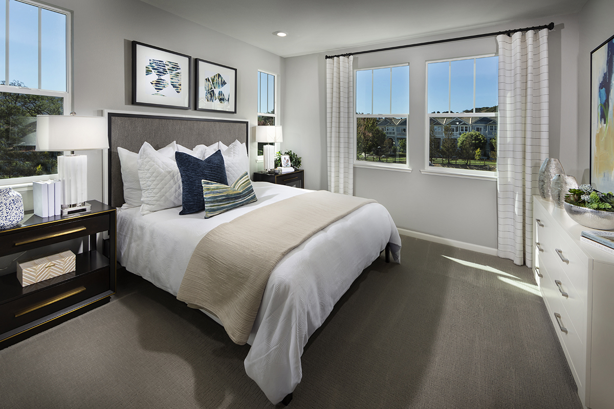 New Homes in Novato, CA - Atherton Place Plan 2032 - Master Bedroom