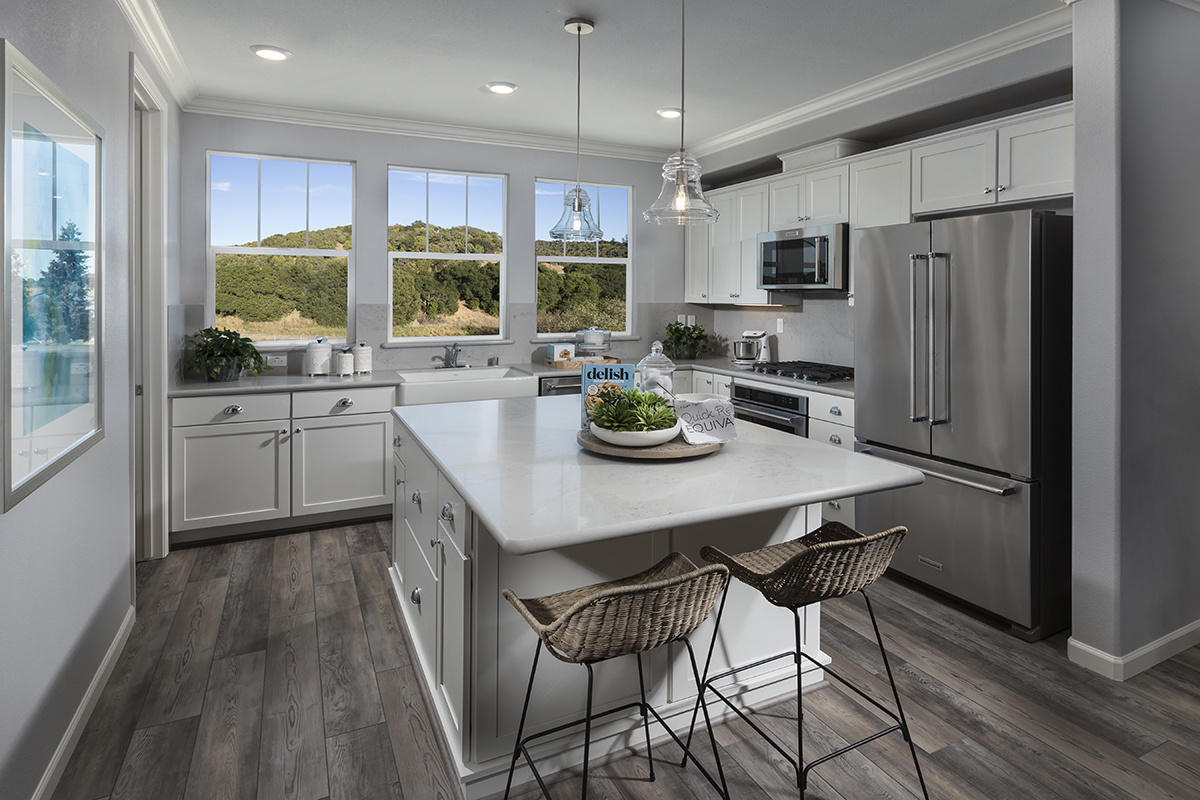 New Homes in Novato, CA - Atherton Place Plan 1979 - Kitchen
