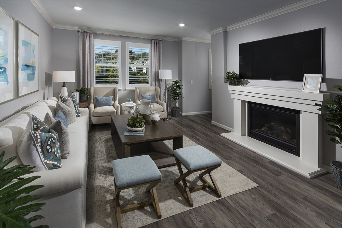 New Homes in Novato, CA - Atherton Place Plan 1979 - Great Room