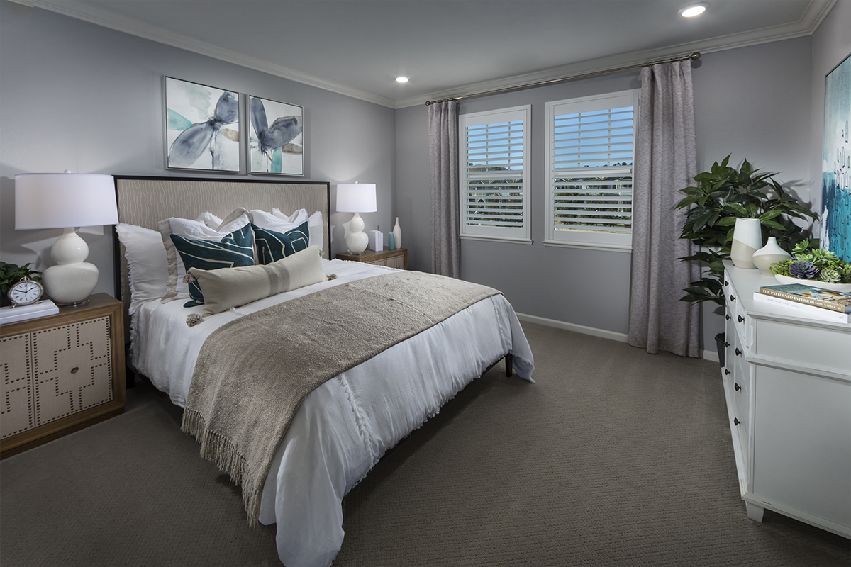 New Homes in Novato, CA - Atherton Place Plan 1979 - Master Bedroom