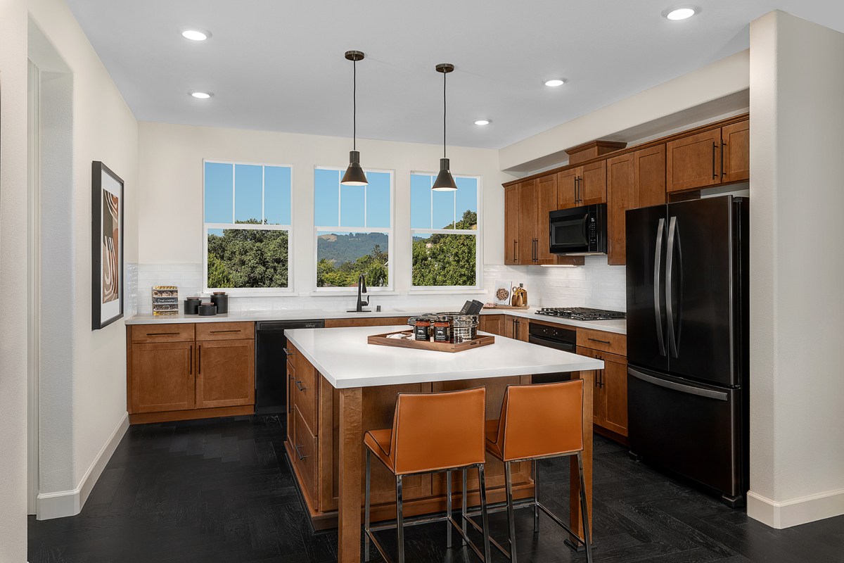 New Homes in Novato, CA - Atherton Place Plan 1731 - Kitchen