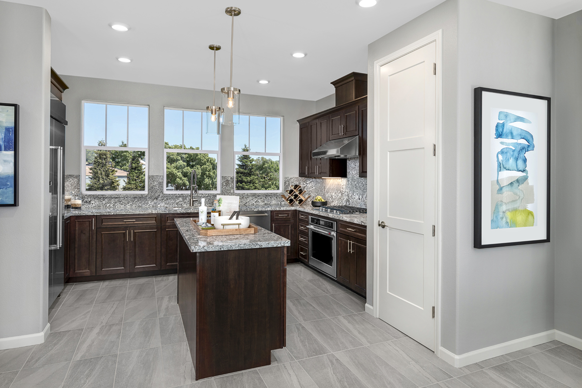 New Homes in Novato, CA - Atherton Place Plan 2032 - Kitchen
