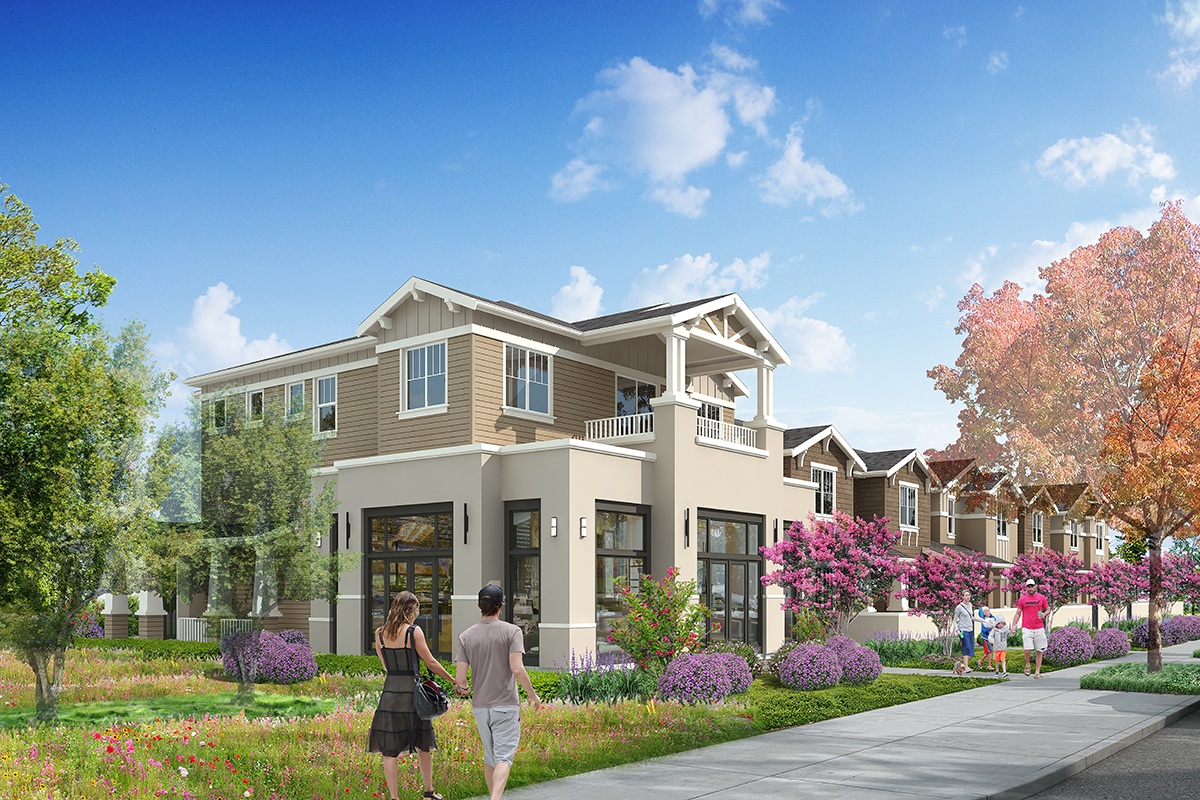 New Homes in Novato, CA - Atherton Place Community Courtyards