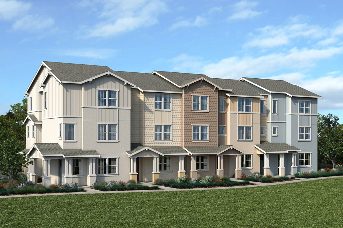 New Homes in Novato, CA - Atherton Place Building D