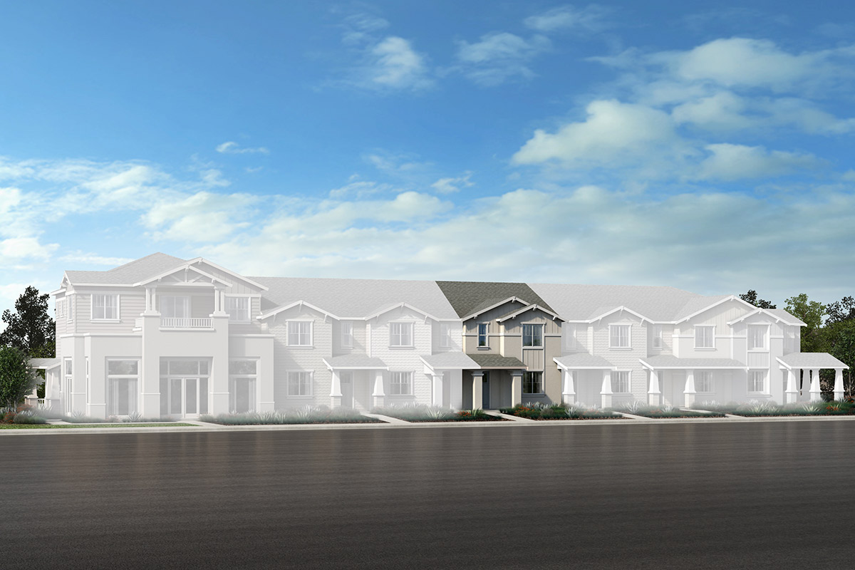 New Homes in Novato, CA - Unit 4-R - Building E