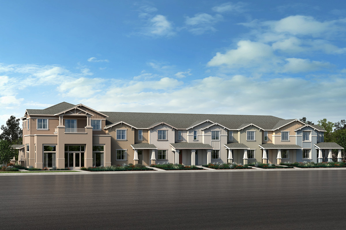 New Homes in Novato, CA - 7Plex - Building E