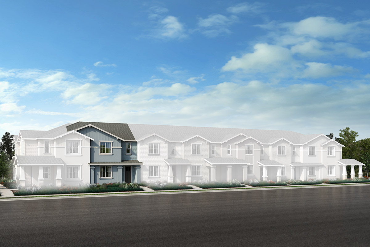 New Homes in Novato, CA - Unit 4 - Building F Option 1