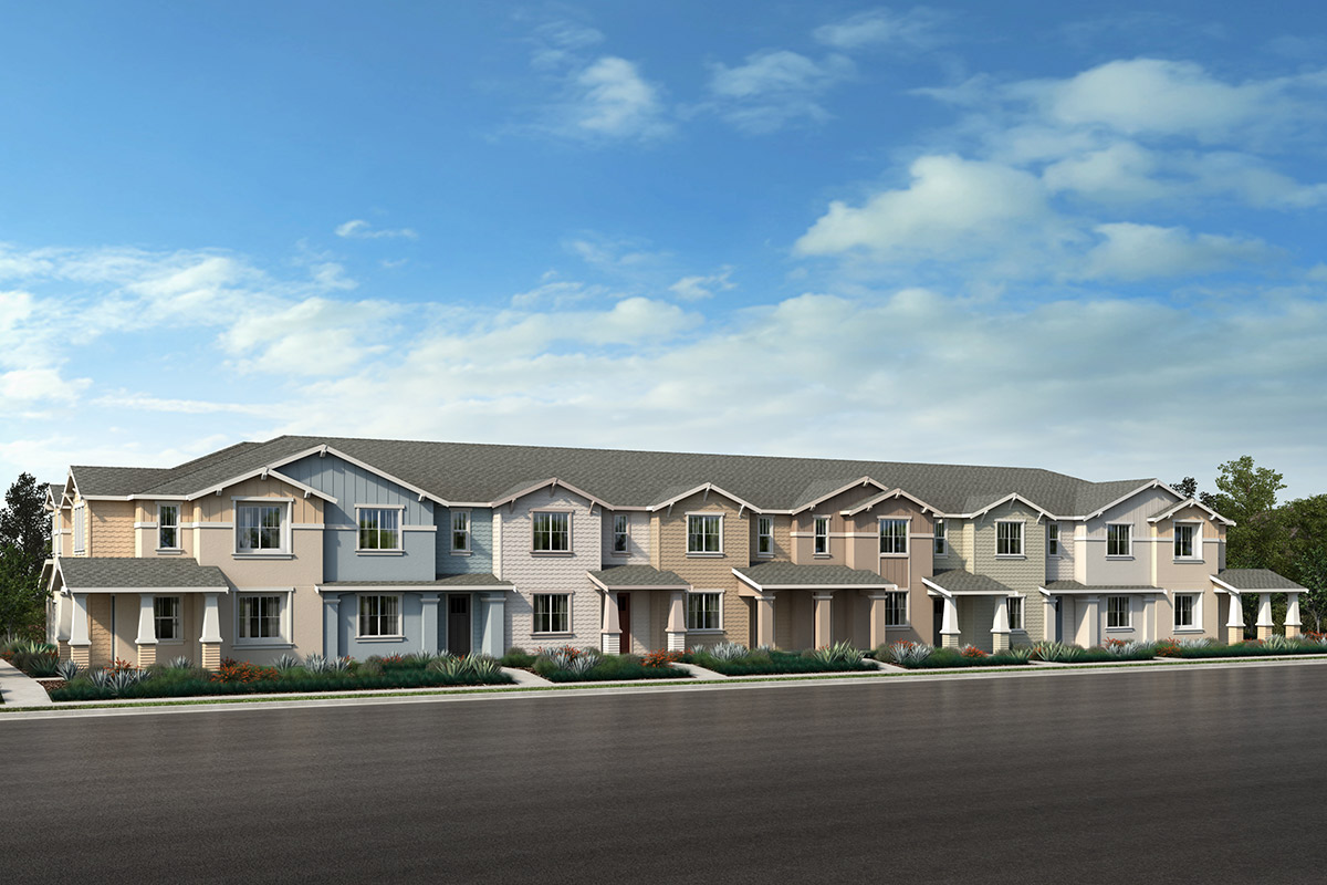 New Homes in Novato, CA - 8Plex - Building F