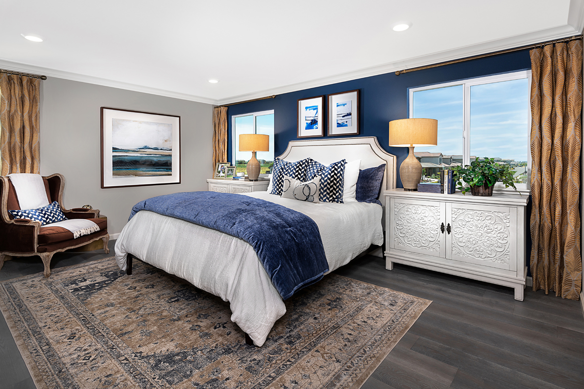 New Homes in Woodland, CA - Bradford at Spring Lake Plan 1880 Master Bedroom