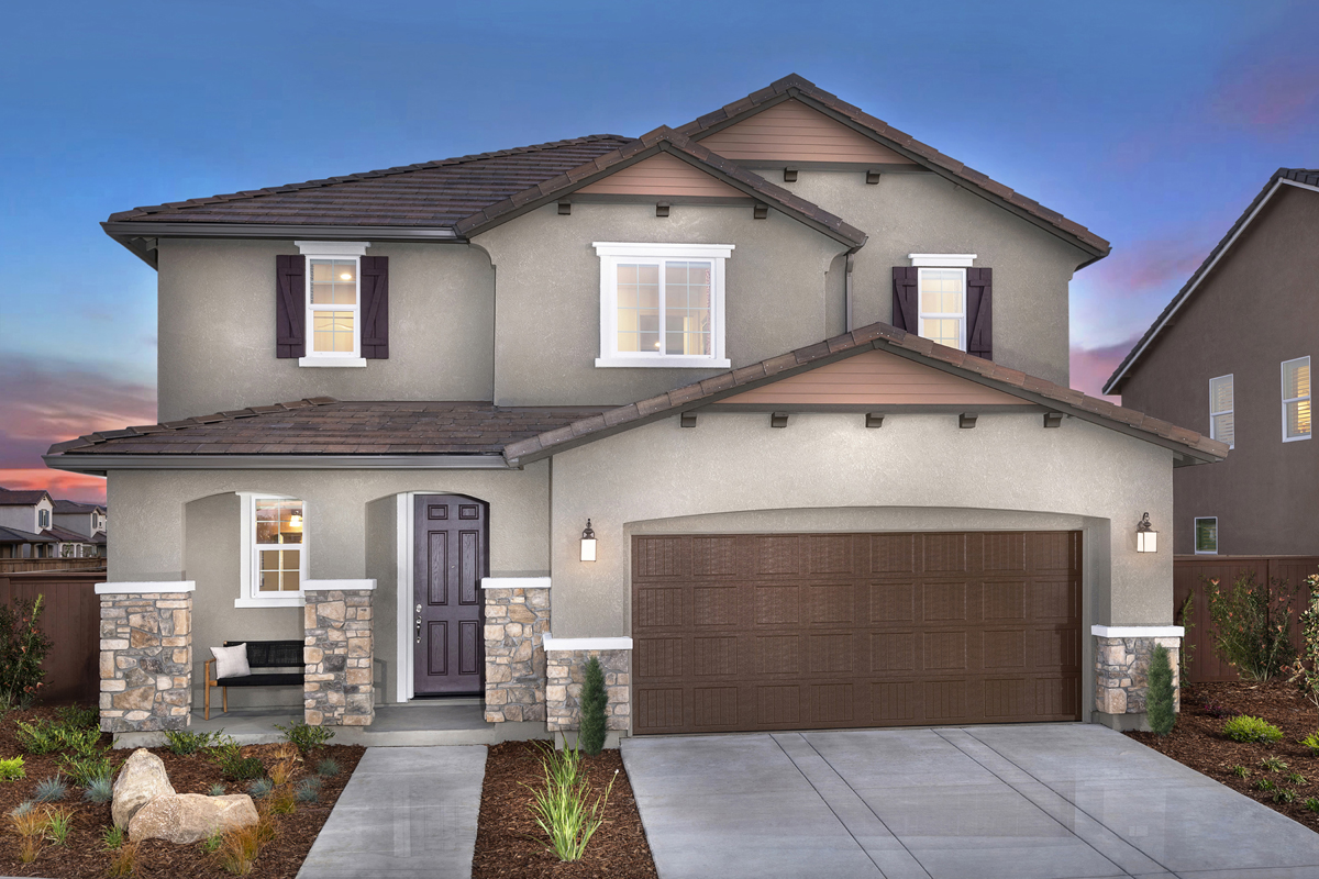New Homes in Woodland, CA - Bradford at Spring Lake Plan 2413 - French Country