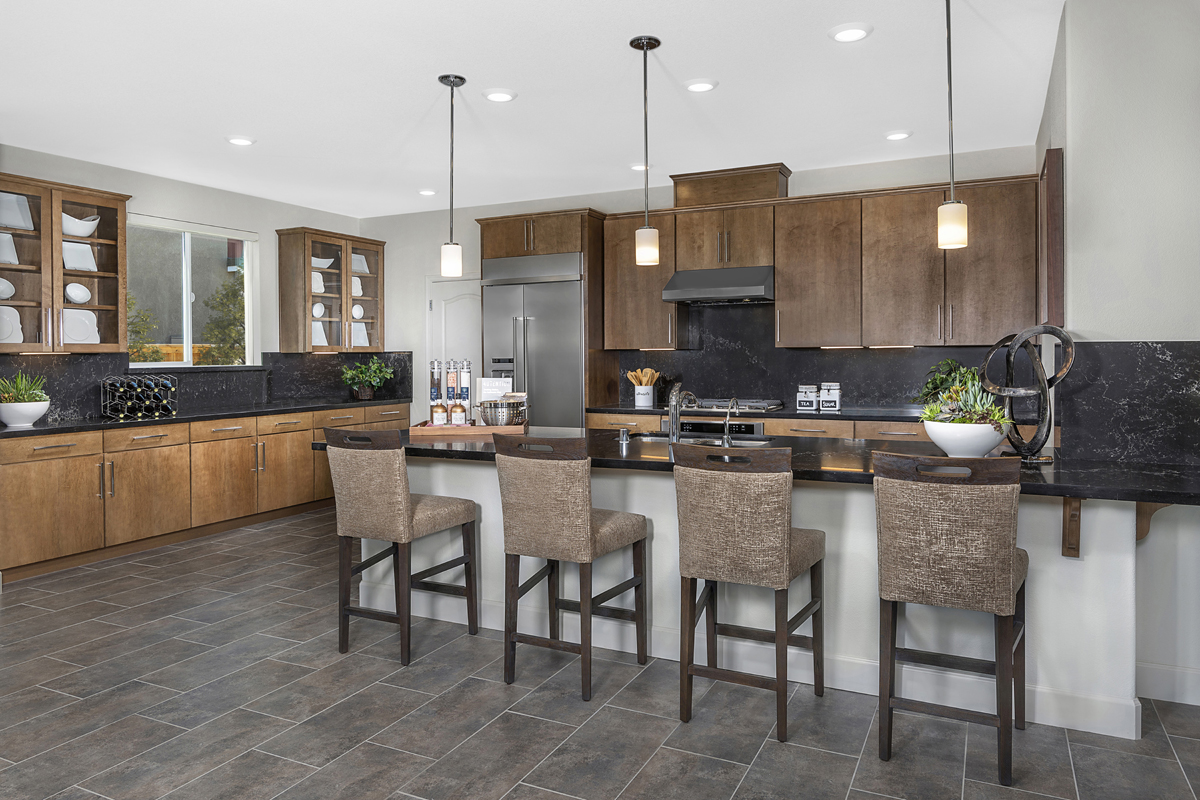 New Homes in Woodland, CA - Bradford at Spring Lake Plan 2413 - Kitchen