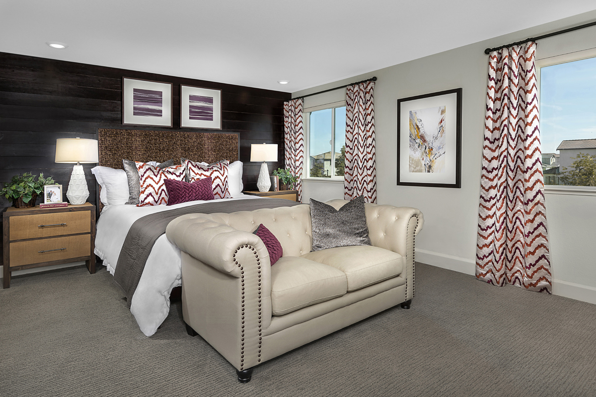 New Homes in Woodland, CA - Bradford at Spring Lake Plan 2413 - Master Bedroom