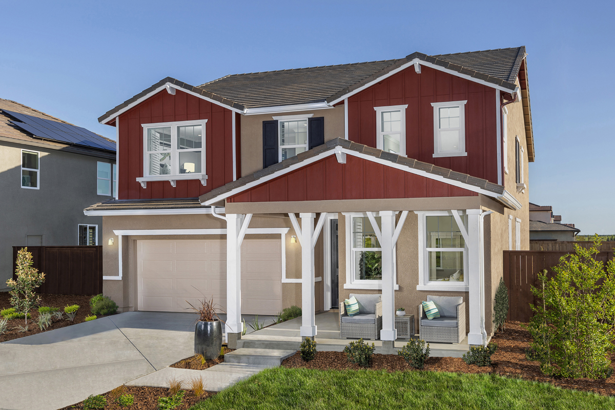 New Homes in Woodland, CA - Bradford at Spring Lake Plan 3061 - Farmhouse