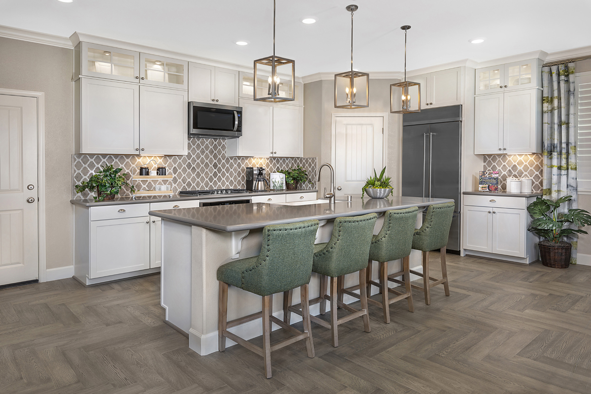 New Homes in Woodland, CA - Bradford at Spring Lake Plan 3061 Kitchen