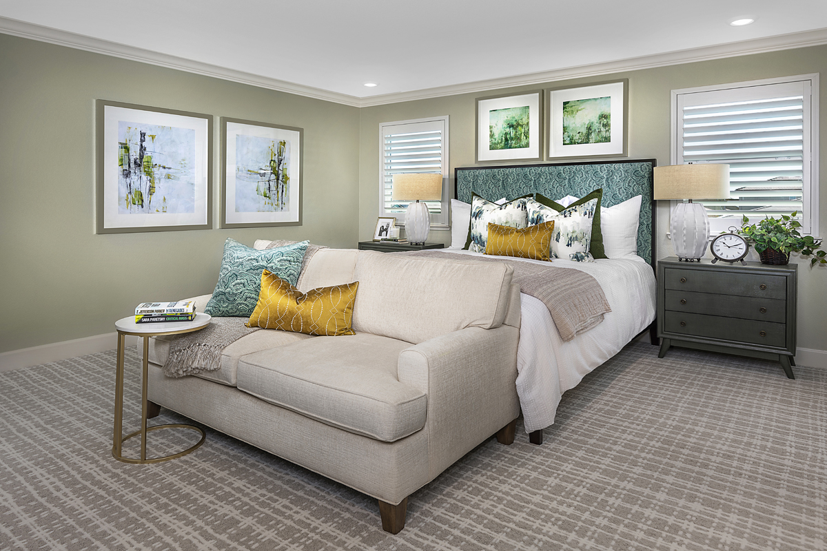 New Homes in Woodland, CA - Bradford at Spring Lake Plan 3061 Master Bedroom