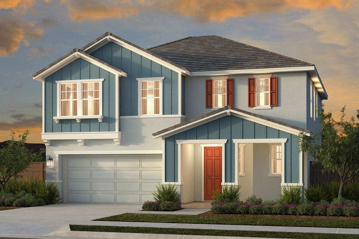 New Homes in Woodland, CA - Plan 3 - Farmhouse Elevation