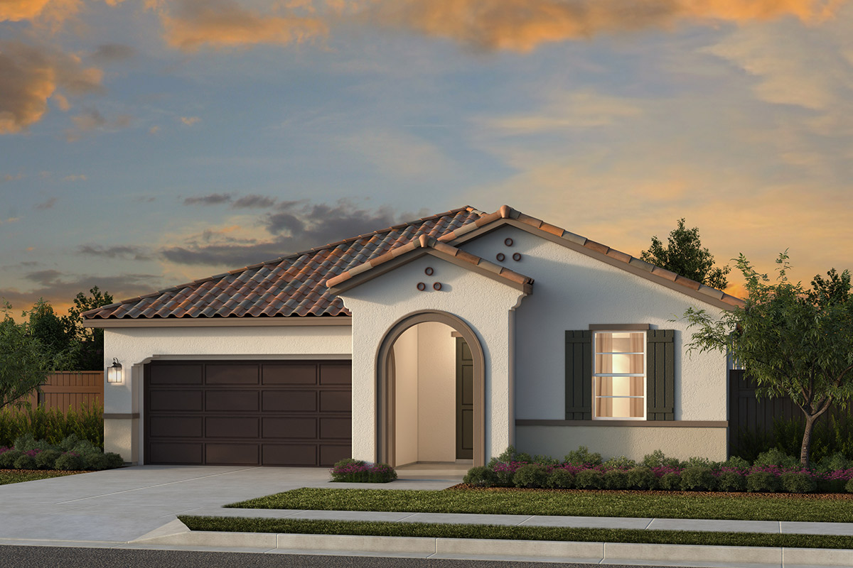 New Homes in Woodland, CA - Plan 2 - Spanish Elevation