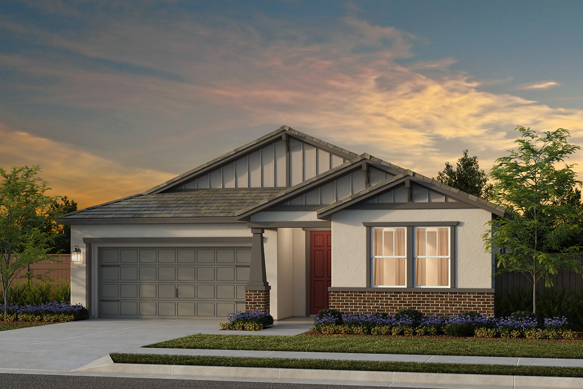 New Homes in Woodland, CA - Plan 2 - Craftsman Elevation