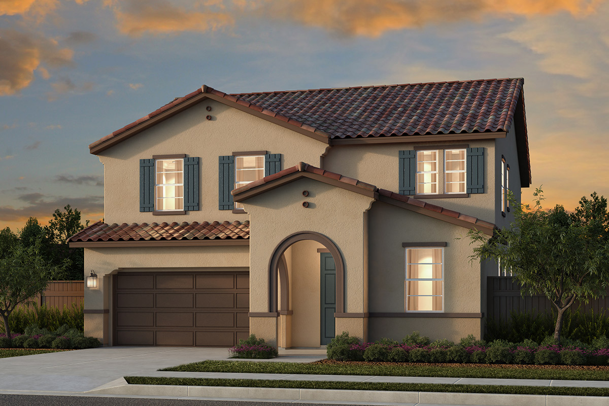 New Homes in Woodland, CA - Bradford at Spring Lake Plan 6 - Spanish